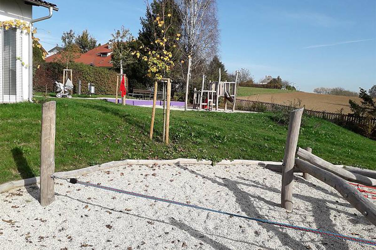 Spielplatz Nöbauerstraße mit großer Sandkiste