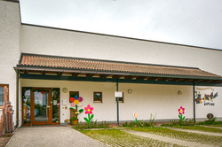 Gebäude des Kindergartens Rufling