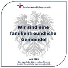 Zertifikat Familienfreundliche Gemeinde