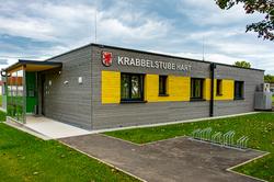 Gebäude der Krabbelstube Hart