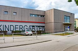 Gebäude des Kindergartens Haag