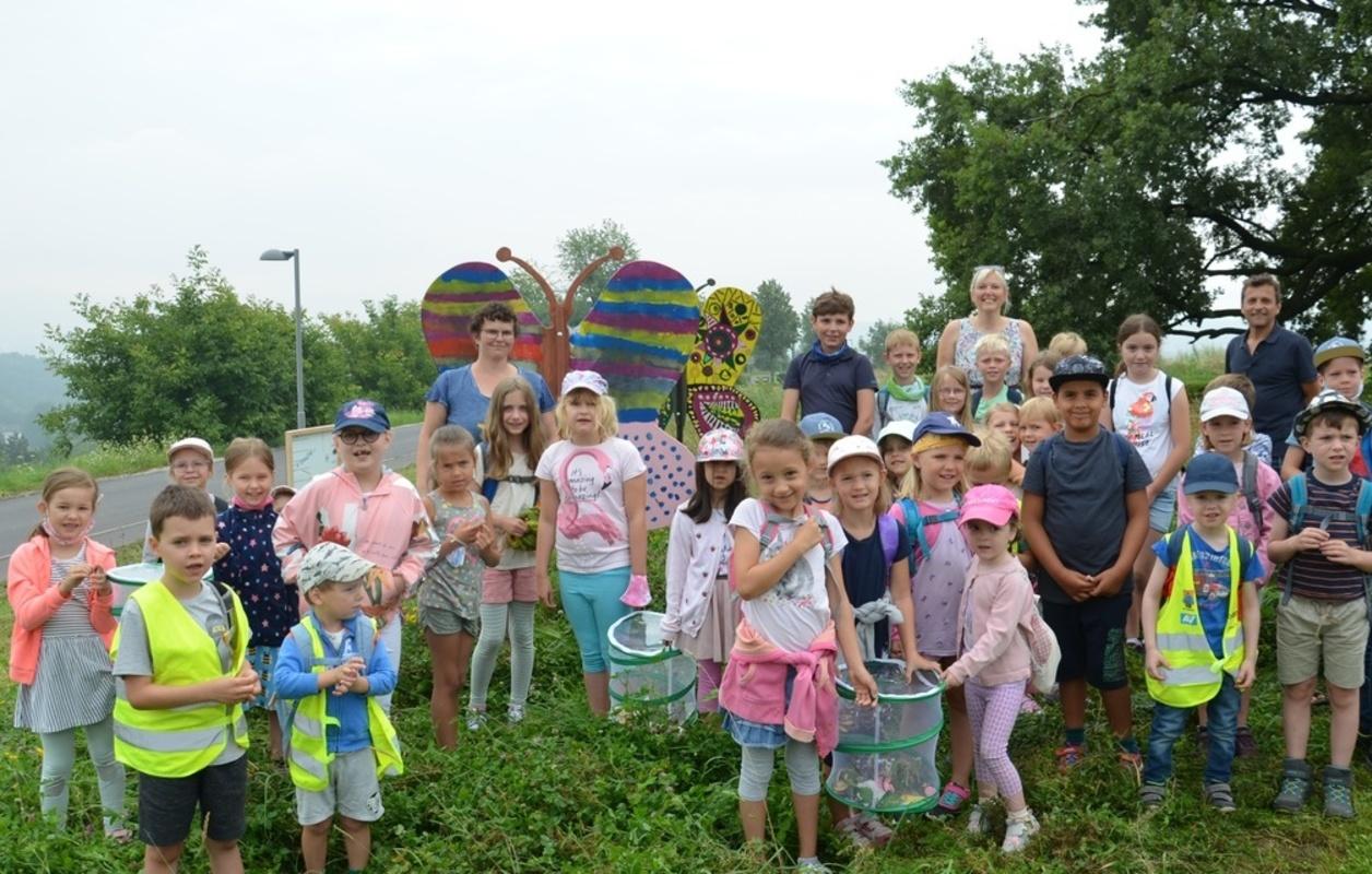 Gruppenfoto Schmetterlingsfest