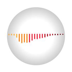 Kreis mit Soundwave