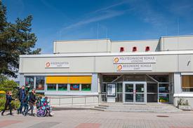 Gebäude der Besonderen Schule Hart