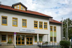 Gebäude des Hort Spillheide