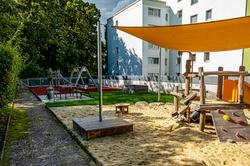 Garten des Kindergartens Larnhauserweg