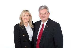 Bürgermeisterin mit Finanzstadtrat