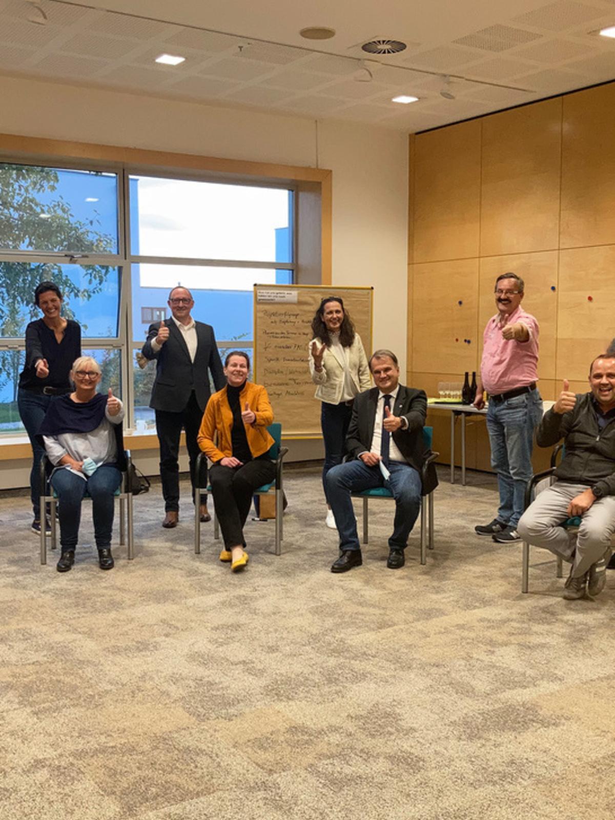 Abschluss Leadership-Lehrgang der Stadt Leonding
