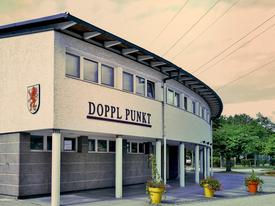 Gebäude des Veranstaltungszentrums Doppl:Punkt