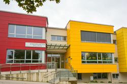 Gebäude des Kindergartens Spillheide