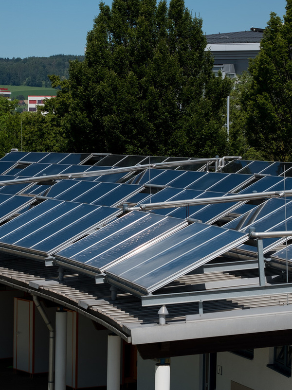 Photovoltaikanlage Freibad
